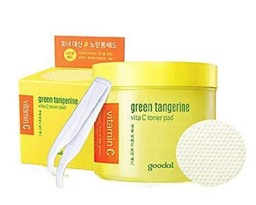 Goodal チョンギュルビタCトナーパッド70枚 Green Tangerine Vita C Toner Pad ×2セット [並行輸入品]