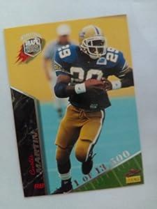 Curtis Martin #1/13,500 (Limited Run ROOKIE Football Card) 1995 Signature Rookies International #49 - Hall of Famer New York Jets / New England Patriots