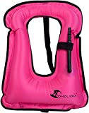 Best Adult Snorkeling Vests - OMOUBOI Snorkel Vest Inflatable Buoyancy Vest for Adults Review