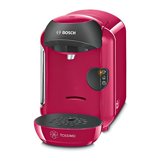 Tassimo by Bosch T12 Vivy TAS1251GB Coffee Hot Drinks and Hot Chocolate Tea Latte Cappuccino Machine - Sweet Pink by Tassimo