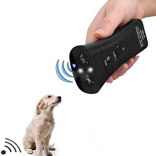 GCSEY Hand Dog Repellent Dual Channel Elektronische Tier Repellent Handliche Ultraschall-Hundetraining Bark Pet-Stopper Für Outdoor