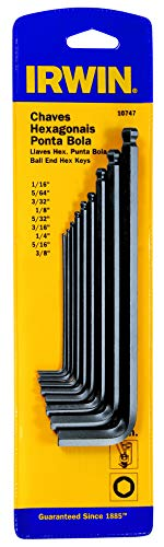 IRWIN IWT10747, Ball-Ended Hex Key, Imperial