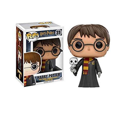 ZRY Harry Potter con Hedwig: Pop!Figura PVC Popular y Precioso de Dibujos Animados con envases Exquisita la Mejor colección de Harry Potter tamaño de Aficionados: 10 cm
