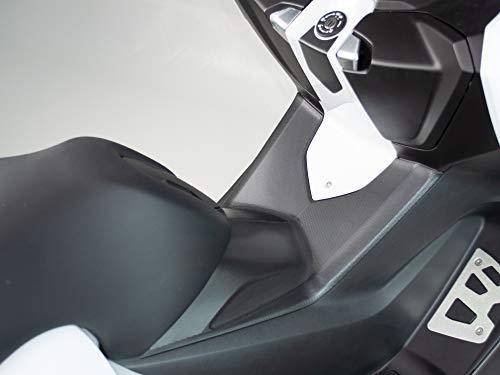 UNIRACING K49117 Scratch Saver für BMW C650 Sport 2014-20, Schwarz, Einheitsgröße, Set of 5