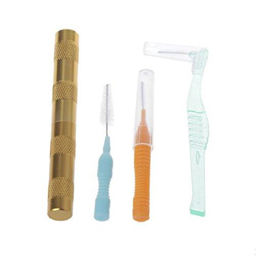 4-teiliges Reinigungsset für Airbrush-Reiniger, Düse, Spritzpistole, Reparatur-Nadelbürste