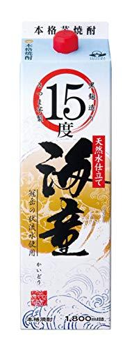 濱田酒造 海童 芋 [ 焼酎 15度 鹿児島県 1800ml ]