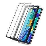BEYEAH [2 Stück] Bildschirmschutzfolie für Huawei P30 lite Panzerglas, [Installationswerkzeug] [Ideal Version] [Anti-Öl] [Anti-Bläschen] (Schwarz)