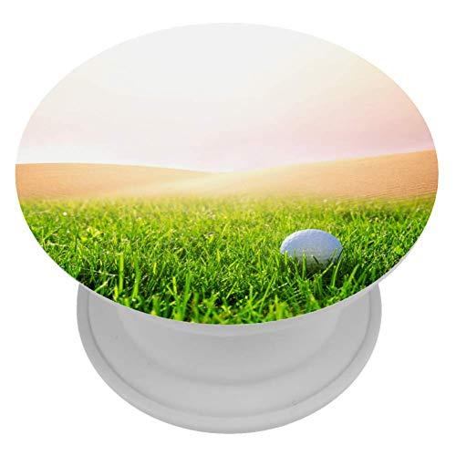 LORVIES Golfbal Op Golfbaan Mount Houder Uitbreiding Telefoon Popper Grip en Stand Hand Houder Knop voor Cellphone,1 PCS