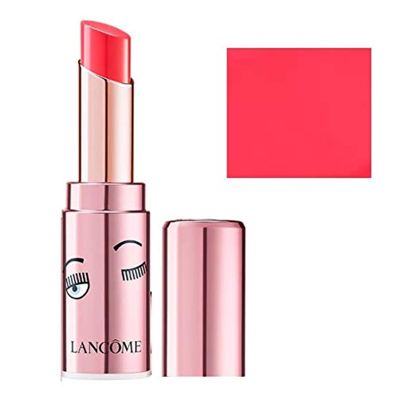 変成器原油落ち着いたランコム(LANCOME), 限定版 limited-edition, x Chiara Ferragni L'Absolu Mademoiselle Shine Balm Lipstick - Positive Attitude [海外直送品] [並行輸入品]