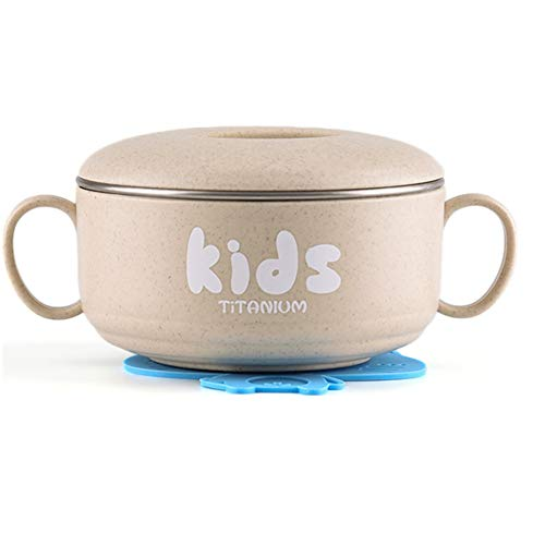 Learn More About RG TECH Pure Titanium Baby Feeding Set, Bowl, Lid, BPA-Free, First Feeding, Healthy...
