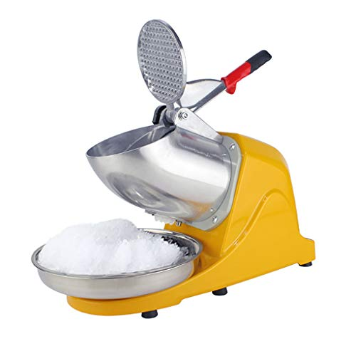 Best Buy! Ice Shaver Machine, Electric High Efficiency Snow Cone Maker, Ice Crusher, Smoothie Maker, for Household Commercial Use