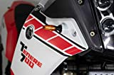 UNIRACING K48847 Scratch Saver Off Road Tenere 700 2019-20. Kit Lateral, Transparente-Negro Yamaha