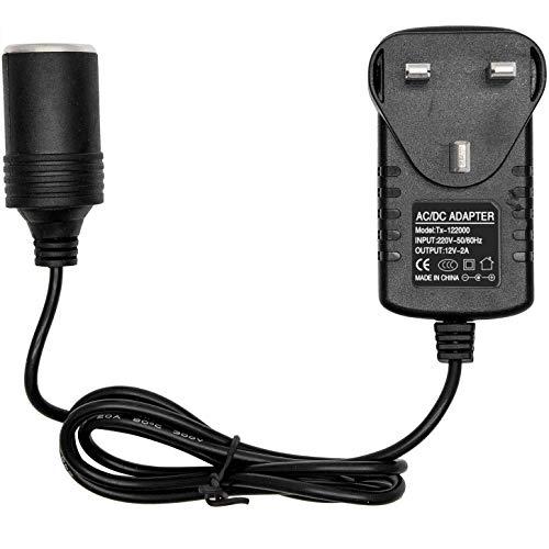 RMFC Car Power Inverters 240V 2A AC Mains to 12V DC Car Converter Socket...