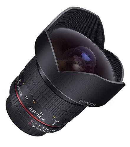 Rokinon FE14M-C 14mm F2.8 Ultra Wide Lens for Canon (Black)