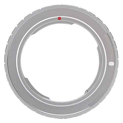 EBTOOLS Adattatore per obiettivo con messa a fuoco manuale, anello adattatore per obiettivo YC CY CO Y per adattarsi alla fotocamera mirrorless Canon EOS EF