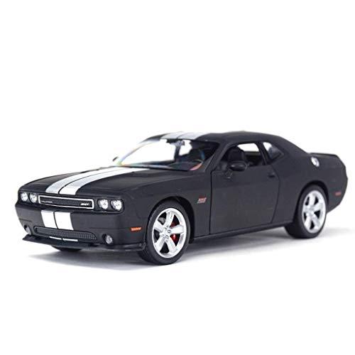 1:24 Scale Dodge Warrior Challenger Police Car Simulation Car Model Zinc Alloy Diecast Kids Toys Decoration Ornaments 19.2x8.4x5.5cm WTZ012