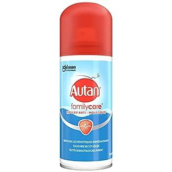AUTAN® Family Care, spray sec anti-moustiques pour le corps, 100ML