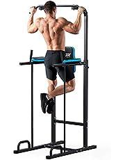 JX Fitness Power Town Multifunctionele Power Tower Dip-Station Fitness Trainingsapparaat voor optrekstang push-ups push-ups abdominale training