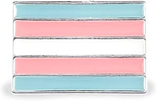 LGBTQ-Rectangle Transgender Pin