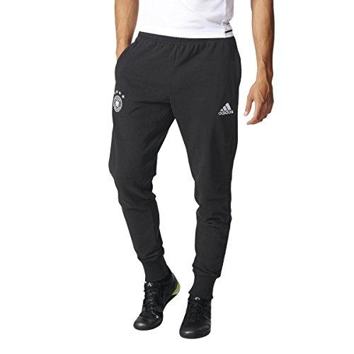adidas DFB Sweat Pant–Pantalón de Entrenamiento, Todo el año, Hombre, Color Blanco/Negro, tamaño Small