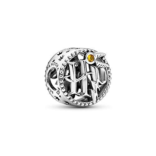 Pandora Charm Harry Potter aus Sterling Silber mit honigfarbenem Kristall