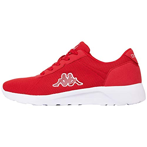 Kappa Herren Tunes Sneaker, Rot (Red 2020), 41 EU
