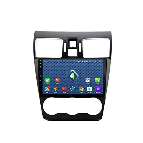 Android 8.1 Radio De Automóvil Para Subaru Forester 2016-2018 Coche Estéreo GPS Navegación Touch Pantalla Pantalón MEDIA Player Doble Din Unidad Unidad Soporte WiFi Control De Vol(Color:4G+WIFi:2+32G)
