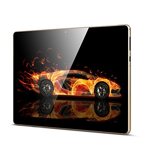 Tablet 10 Zoll, Android Tablet PC Qimaoo Android 8.1 mit 2 GB RAM 32 GB ROM Quad Core CPU, IPS HD (1280 x 800), Dual Kamera/ SIM 3G Tablets Unterstützung WiFi /GPS/Bluetooth (K4)