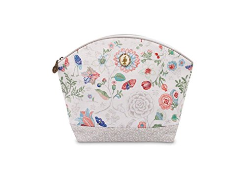 Cosmetic Bag Large Spring to Life Off White