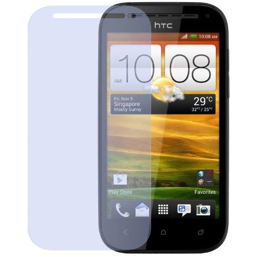 dipos I 2X Schutzfolie klar kompatibel mit HTC One SV Folie Displayschutzfolie