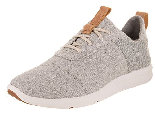 TOMS WOMEN CABRILLO Drizzle Grey Chambray Mix UK5