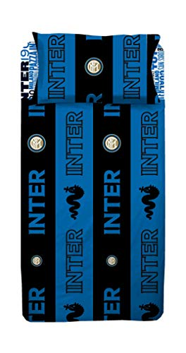 Inter Bettwäsche-Set für Einzelbett, Blau