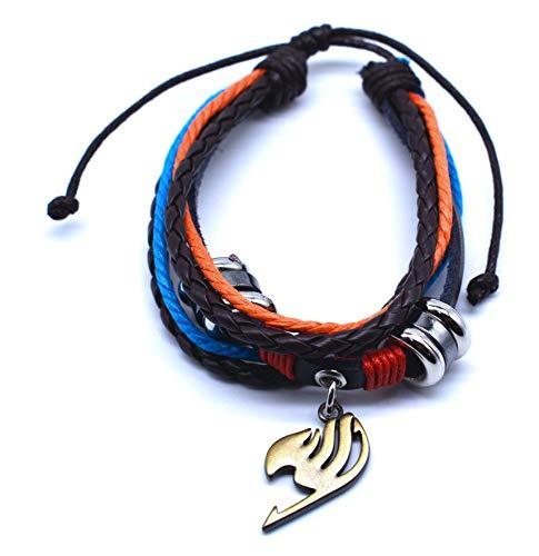 Anime Domain Fairy Tail Armband mit Union Logo Anhänger