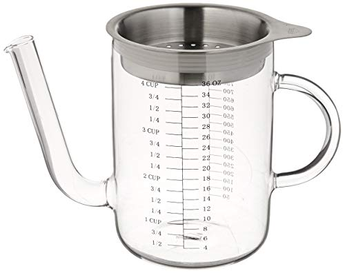 Küchenprofi Glass/Stainless Steel Gravy Separator 4 cup