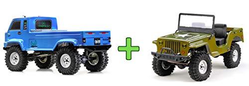 Absima 12003 1:10 EP Crawler CR2.4 Petrol RTR inkl. gratis Jeep Karosserie