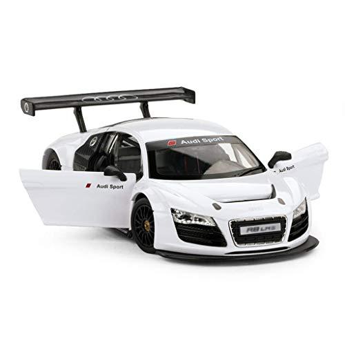 hclshops Coche Modelo de Coche 1:24 R8 LMS Simulación de aleación de fundición de Joyas de Juguete Sports Car Collection 18.7x9.2x5.4CM