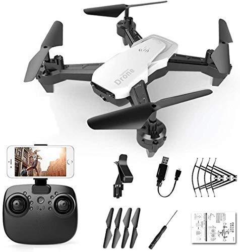 Tragbare WiFi FPV RC Drohne mit 110 Grad; FOV 1080P HD-Kamera Live-Video Faltbarer Quadcopter mit Flugbahn Flughöhe Halten Sie 20 Minuten Lange Flugzeit Drohnen Indoor Outdoor Geschenke Für