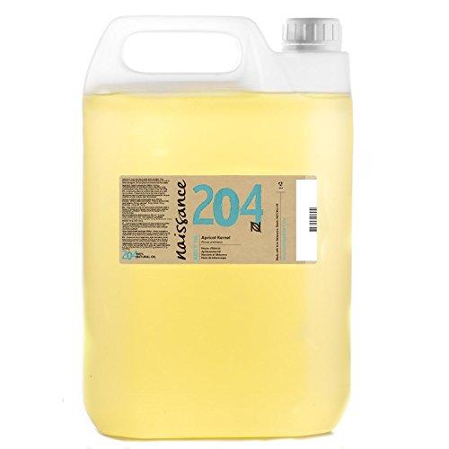Naissance Aprikosenkernöl 5 Liter - rein, natürlich, vegan, gentechnikfrei - feuchtigkeitsspendend & pflegend
