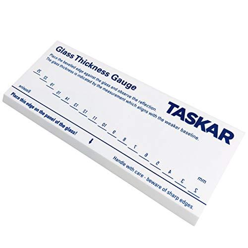 Taskar Herramienta de medición de espesor de vidrio de 2 mm a 25 mm utiliza reflexión