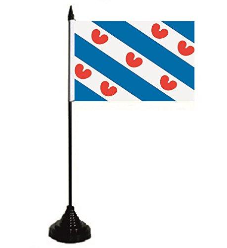 U24 tafelvlag Nederlands Friesland vlag vlag tafelvlag 10 x 15 cm