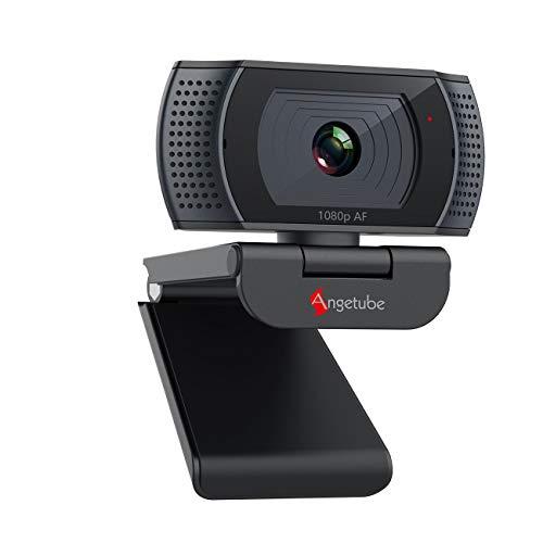 Cámara Web 1080P FHD con micrófono Dual, cámara Web con Enfoque automático con Cubierta de privacidad, cámara de computadora con transmisión USB para Zoom/Skype/Xbox One/Facebook/Youtube