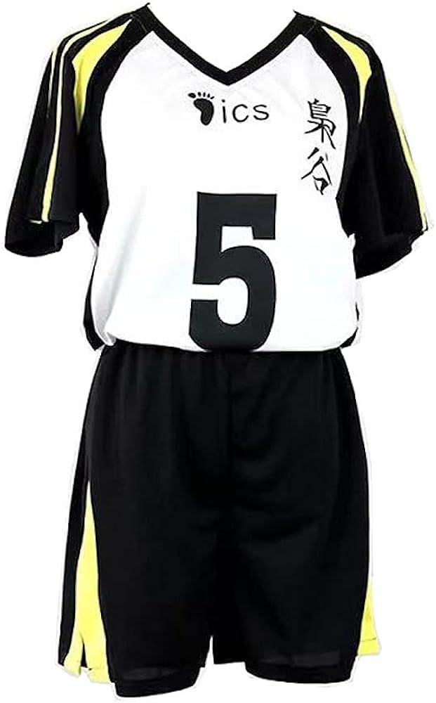 Kuroo Tetsurou Kozume Kenma Jersey Shiratorizawa Cosplay Costume High School Sportswear, 10 Types