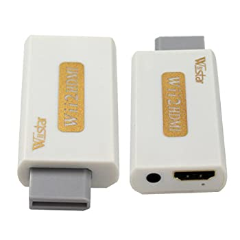 Wii to HDMI 1080P 720P Converter HD DVI HDTV Output Support All Wii Display Modes Video with Audio Output
