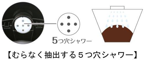 グループセブジャパン ティファール コーヒーメーカー スビト ソリッドブラック CM1538JP