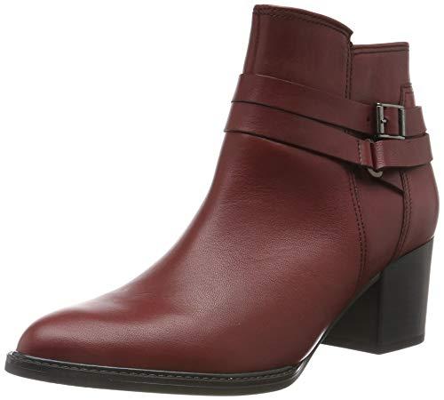 Gabor Shoes Comfort Sport, Botines Mujer, Rojo (Dark/Red (Micro) 58), 42 EU