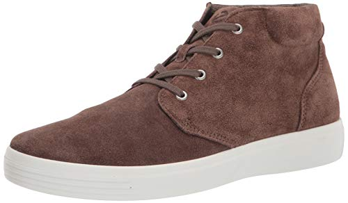 ECCO Men's Soft Classic Chukka Boot Sneaker, DARK CLAY, 7 M US