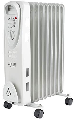 Öl Radiator 9 Rippen | 2000 Watt | Elektroheizung | Radiator Heizung | Heizkörper | Heizlüfter | Ölradiator | Heizgerät | Schnellheizer | geeignet für Haushalt, Garten, Camping