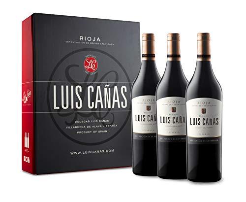 Luis Cañas Reserva Selección De Familia Vino Tinto Estuche 3 Botellas - 750 ml