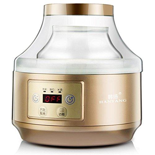 GZD Creatore di Yogurt Digitale Maker Pure Yogurt Capacità nominale 2L. | Enzima multifunzionale 20 ~ 30 ° C Oro automatico di controllo della temperatura