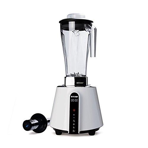 BioChef BCLF Küchenstandmixer, BPA-freier Tritan, 2 liters, Bianco